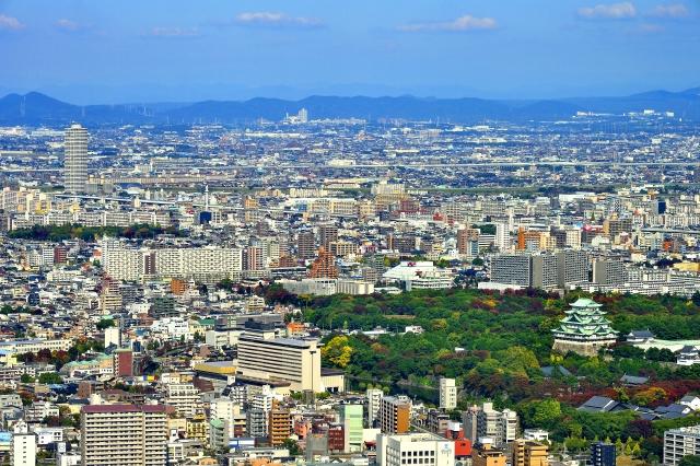 名古屋市の様子
