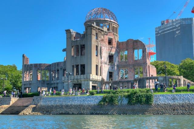広島市の様子